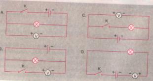 Giải Lý lớp 7 Bài 26: Hiệu điện thế giữa hai đầu dụng cụ điện