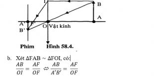 Giải lý lớp 9 Bài 58: Tổng kết chương III: Quang học