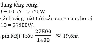 Giải lý lớp 9 Bài 62: Điện gió - Điện mặt trời - Điện hạt nhân