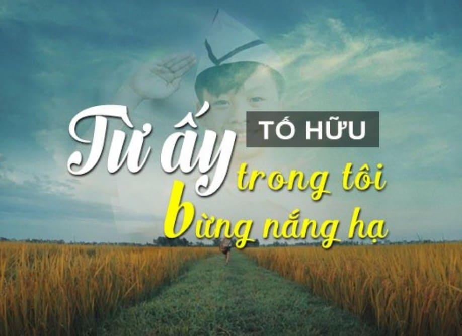 phan tich bai tho tu ay cua to huu bai lam cua hoc sinh gioi - Phân tích bài thơ Từ ấy của Tố Hữu - bài làm của học sinh giỏi